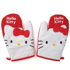 I want everything hello kitty in the kitchen after going to target