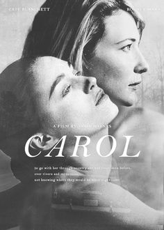 carol film poster - Google Search