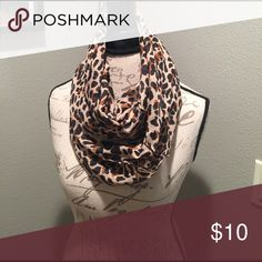 Leopard print scarf A chic statement for your outfit and closet. Simple. Light. Stylish. Accessories Scarves & Wraps