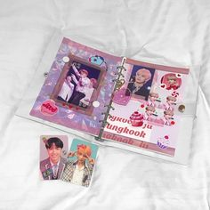 Myoongisvirgo Bullet Journal And Diary, My Journal, Journal Covers, Bullet Journal Inspiration, Journal Ideas, Bts Book, Kpop Phone Cases, Cute Journals, Acrylic Charms