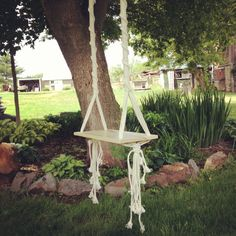 Hey, I found this really awesome Etsy listing at http://www.etsy.com/listing/156009237/tree-swing-macrame-swing
