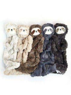 Sloth blankie