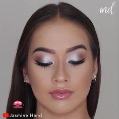 Brown Eye Makeup Tutorial, Wedding Makeup Tutorial, Makeup Looks Tutorial, Flawless Face Makeup, Skin Makeup, Arab Makeup, Everyday Makeup Tutorials, Glam Makeup Look, Make Up Looks