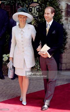 The Earl & Countess Of Wessex Attend The Wedding Of Prince Constantijn & Princess Larentien Of Holland. .