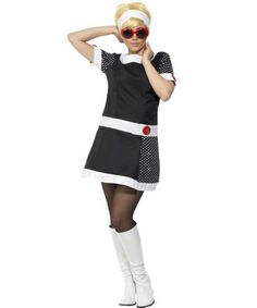 60s Mod Chick Womens Costume | 1960S