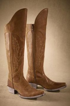 Womens Soft Brown Leather Boots 121