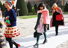 Susie in Prada. Paris. #SusieLau #StyleBubble #PhilOh