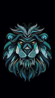 wallpaper, lion, and background image