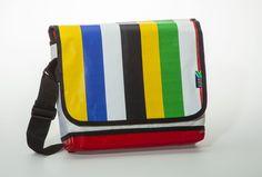 Messenger BAG: Funky Stripes