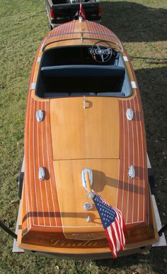 1955 21' Chris Craft Capri Runabout