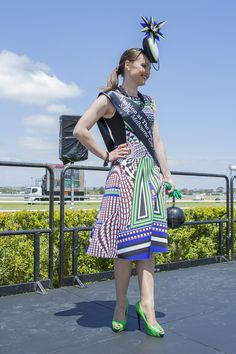 Fashion At The Races  - Melbourne Cup day at @morphettville Winner, Melissa Barnes - 2014