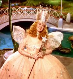 Glinda The Good Witch from The Wizard of Oz. Costumes by Adrian