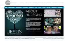 Hillsong Church Best Designed Website  --  LOVE.