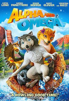 ALPHA AND OMEGA DVD - A Howling Good Time