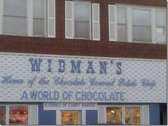 "Must try the ""Chippers"" at Widman's in Grand Forks, North Dakota..One of my favorite places in the world!!!"