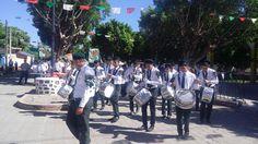 La Banda de Guerra del #EMSAD01ValleDeVázquez #Cobaem_Morelos también participó en desfile del #DíaDeLaBandera #juventudcultayproductiva