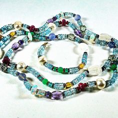 SPLENDID's bohemian necklace. Total length is 40 inches. Total weight 313.71 carats. #iworkatnm #luxury #nmparamus #neimanmarcus #bejeweled #designer #preciousjewels #splendid #18k #Bohemian #Sapphires #Rubies #Emeralds #Opals #Moonstones #Amethyst #Apatite #Pearl #Blue Chalcedony #Chrysoprase #Citrine #Tanzanite #Aquamarine