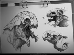 Creature Sketches by francisco2236 on DeviantArt