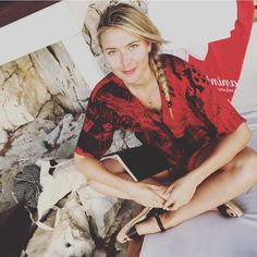 Latest photos of Maria Sharapova My Maria, Maria Sharapova Photos, Tennis Players Female, Tennis Match, Russian Beauty, Tennis Stars, Let Your Hair Down, Blonde Women, Dream Bodies