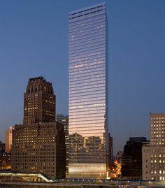 7 World Trade Center 7 World Trade Center, Lower Manhattan, Master Plan, Vacation Spots, Skyscraper, Tower, Architecture, Facades, Japan