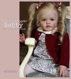Betty Reborn Vinyl Doll Toddler Kit by Natali Blick Reborn Toddler Dolls, Reborn Doll Kits, Reborn Babies, Baby Wish List, Beautiful Dolls, Beautiful Things, Lifelike Dolls, Silicone Dolls, Vinyl Dolls