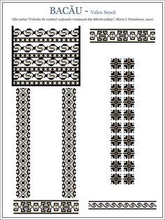 Folk Embroidery, Cross Stitch Embroidery, Embroidery Patterns, Machine Embroidery, Beading Patterns, Cross Stitch Designs, Cross Stitch Patterns, Wedding Album Design, Moldova