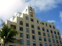 Miami South Beach Art Deco  #florida