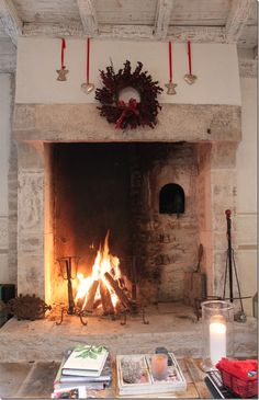 Hearth & Home. Now that's what I call a fireplace!