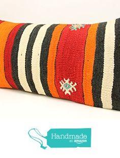 Oblong kilim pillow cover 12x24 inch (30x60 cm) Bohemian Kilim pillow cover Sofa Decor Accent Pillow cover Kilim Cushion Cover https://www.amazon.com/dp/B01MFATYGT/ref=hnd_sw_r_pi_dp_hrIcybKZ5FF15 #handmadeatamazon