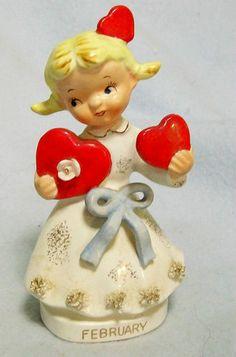 Vintage Girl Figure
