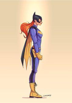Batgirl  by Johnny-Lighthands