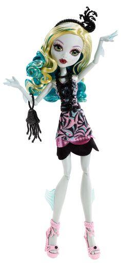 Monster High Frights, Camera, Action! Black Carpet Lagoona Blue Doll