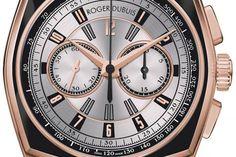 10 montres & un coussin - Roger Dubuis La Monégasque Chronographe - lesoir.be