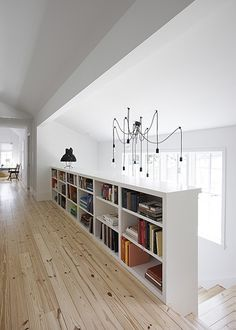 Clever stair storage