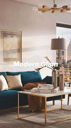 Glam Living Room, Living Room Modern, Living Room Designs, Beautiful Interior Design, Beautiful Interiors, Beautiful Homes, Neutral Colors, Accent Chairs, Table
