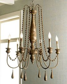 french bead chandelier