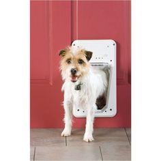 RadioFence.com - SmartDoor Electronic Pet Door, $69.99 (http://www.radiofence.com/petsafe-smart-door-electronic-pet-door/)