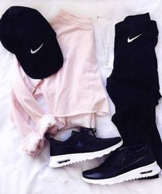 Ideas For Fitness Fashion Leggings Athletic Wear Teen Fashion Outfits, Nike Outfits, Outfits For Teens, Sport Outfits, Trendy Outfits, Fall Outfits, Cute Everyday Outfits, Fashion Women, Adidas Outfit