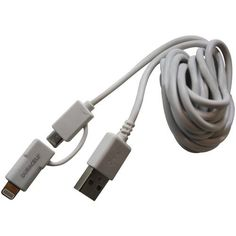 DURACELL PRO446 Charge & Sync Lightning(TM) & Micro USB Cable