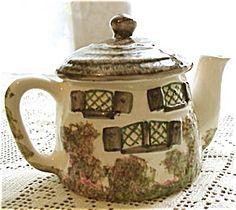 English Cottage TEA POT / Devon China
