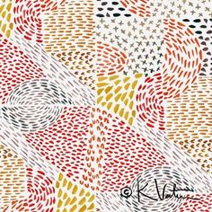 tribal nature surface pattern design print & pattern: SURTEX 2015 - kelly ventura