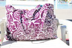 Strandtaske i voksdug