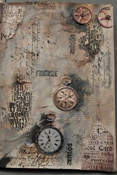 LaBlanche :: Video Mixed Media Collage