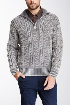 Impermeable Vintage Cabled Fisherman Sweater by Impermeable on @HauteLook