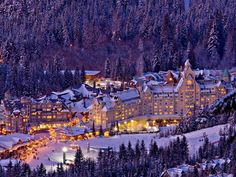 Whistler, Canada looks like santas village