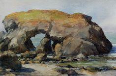 Jim McVicker Paintings: A Few California Watercolors Watercolor Paintings, Watercolors, Yahoo Images, Image Search, Past, Ocean, California, Rocks, Prints