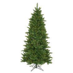 "10' x 62"" Eastern Pine Slim Artificial Christmas Tree - Unlit"