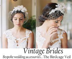 Glamarous vintage wedding accessories