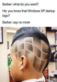 TinyAdda Picdump Funny Pictures Of The Day 105 Pics Page 4 of 15 Terrible Haircuts, Cool Haircuts, Worst Hairstyles, Barber Say No More, Haircut Memes, Barber Memes, Kinds Of Haircut, Funny Memes, Hilarious