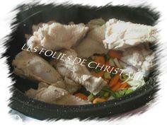 Blanquette de dinde mijoteuse Pork, Passion, Meat, Slow Cooker, Madness, Kitchens, Kale Stir Fry, Pork Chops